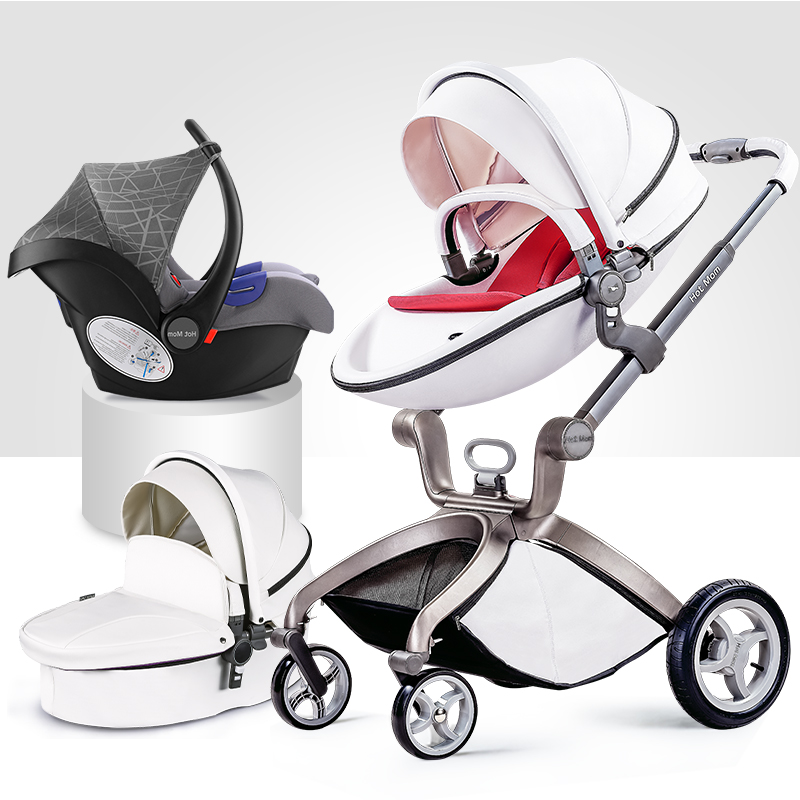 Free Shipping Luxury Baby Stroller High Land-Scape Baby Stroller 3 in 1 Hotmom Carriage все цены