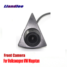 Liandlee AUTO CAM Car Front View Camera Logo Embedded For Volkswagen VW Magotan ( Not Reverse Rear Parking )