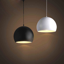 Nordic simple ball pendant lamps, Home decor restaurant lighting pendant lights Restaurant decoration недорого
