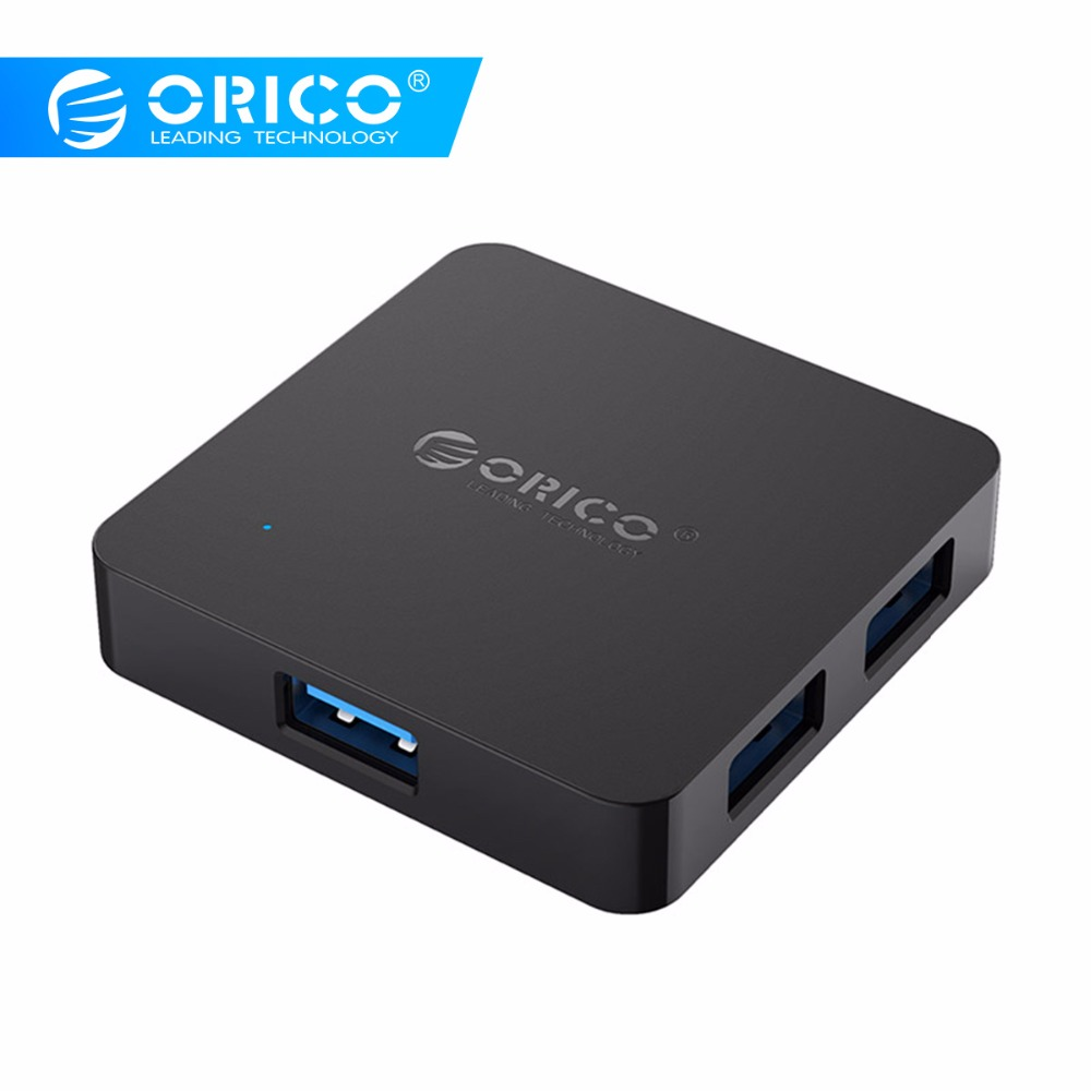ORICO USB HUB 5Gbps 4 Ports USB 3.0 Splitter Hub Portable OTG HUB with Micro B Power Port for Apple Macbook Laptop PC Tablet