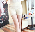 2017 новый сексуальный дешевые трусы боксер женские середины талии бесшовные боксер безопасности брюки модальный толщиной безопасности короткие штаны