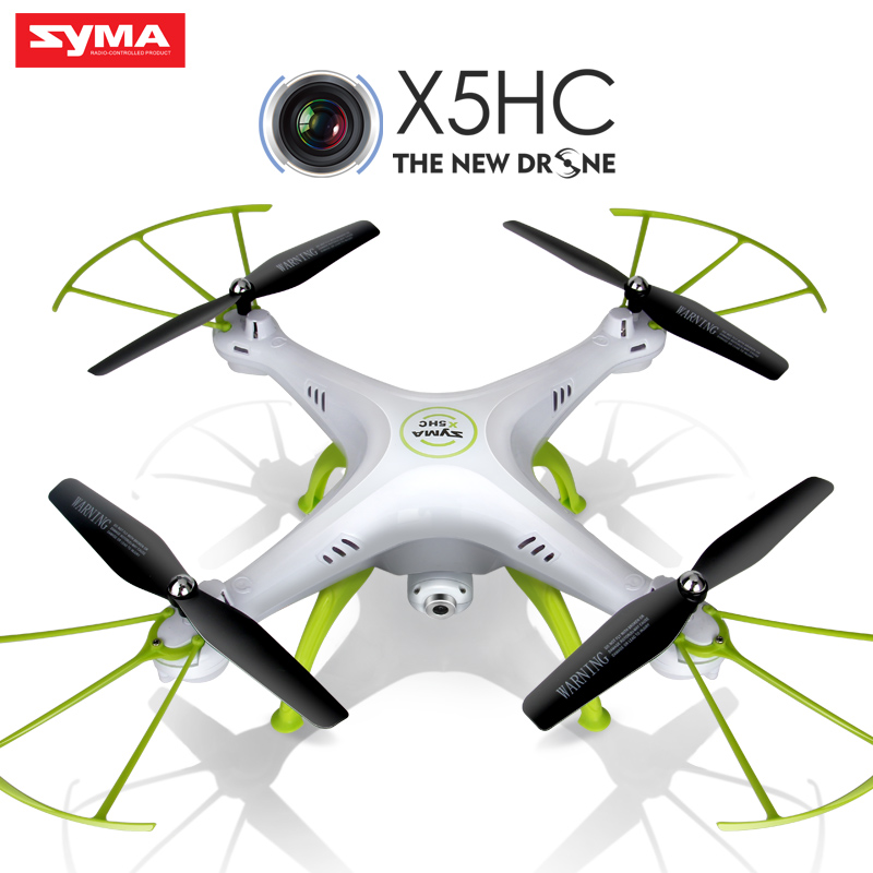 Quadcopter  Syma X5HC (X5C Upgrade) Drone with Camera HD 2.4G 4CH RC Helicopter  Original Dron Quadrocopter Toy syma x5hw x5sw upgrade drone with camera hd fpv 2 4g 4ch rc helicopter quadcopter original quadrocopter toy