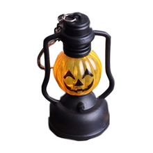 Halloween Lamp Pumpkin Shape Skull Cute Portable Handheld String Light Pumpkin/Skeleton/Skull Decoration