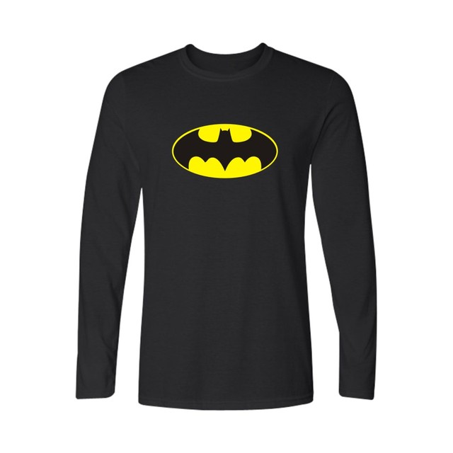 Batman Symbol Black Navy Blue With Fashion Men T Shirt Luxury Brand