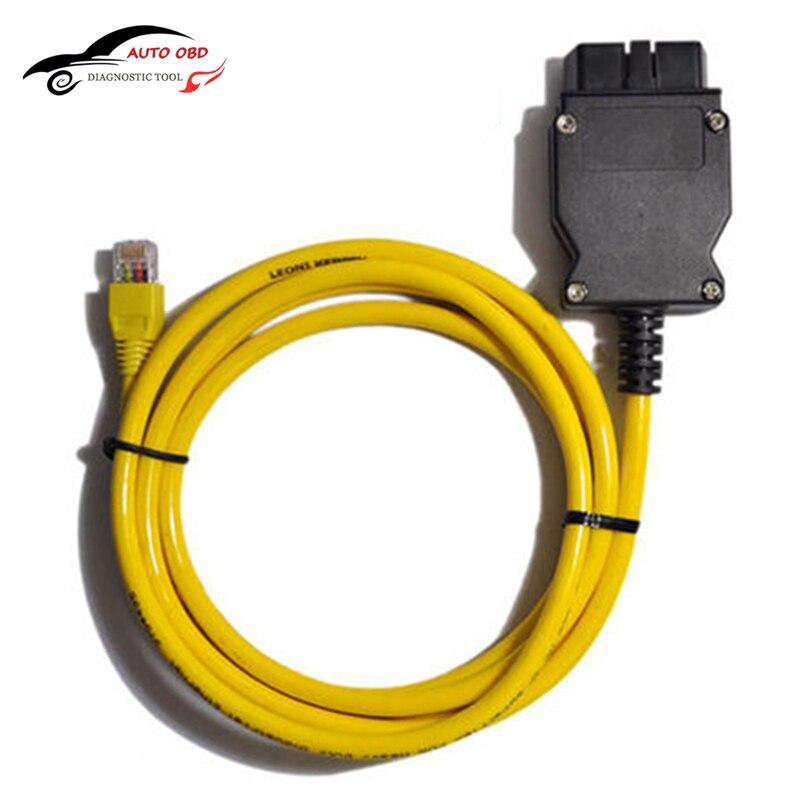 Cable de datos de esys OBD Ethernet código para BMW Icom A2 interfac ...