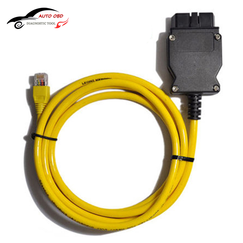 ESYS Data Cable OBD Ethernet Code For Bmw ICOM A2 Interfac OBD2 For Bmw ESI Enet Cable E-SYS ICOM Coding Diagnostic Cable