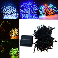 Solar Powered Outdoor String Lights 22M 200 Leds Solar Fairy String Lights For Outdoor Gardens Homes