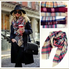 Foulard Women Brand Scottland Tartan Scarf Bufandas Mujer 2015 Plaid Cachecol Feminino Shawls Scarves Wraps Designer Scarf 14553