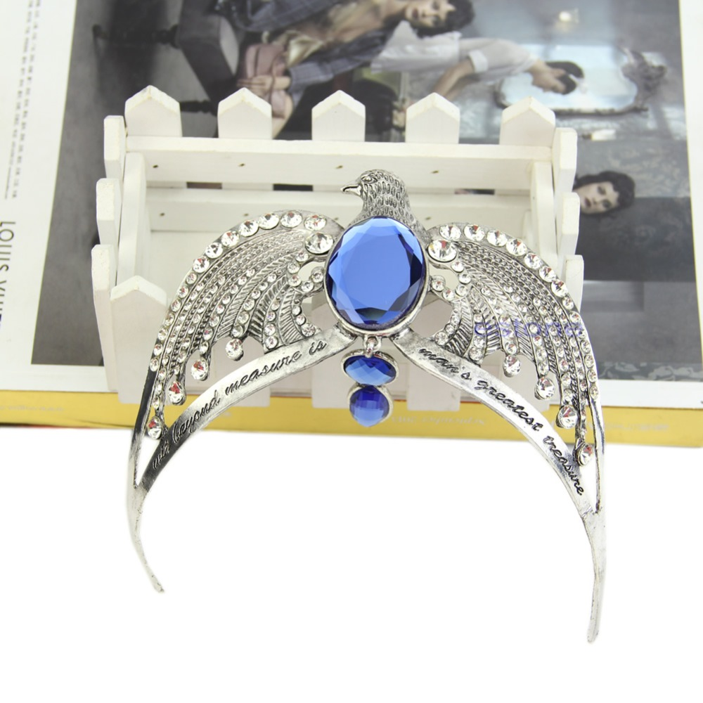 Fashion  Lost Diadem Tiara Crystal Crown Horcrux  Potter  Prop A14_25