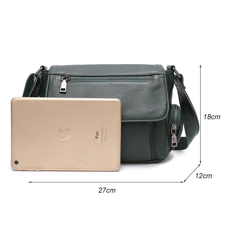 ac6f32b50c5 Aliexpress.com : Buy LY.SHARK bags for women 2018 Green Genuine Leather Bag  Women's Handbag Female Crossbody Shoulder Bag Ladies Tote Small Messenger  ...