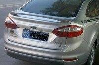 WOOBEST ABS Rear Wing Rear Trunk Rear Spoiler roof visor for ford fiesta sedan 2009 15, top quality unpainted