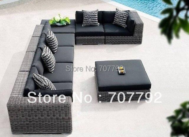 New Design Outdoor Rattan Furniture Sofa Set In Garden Sofas From
