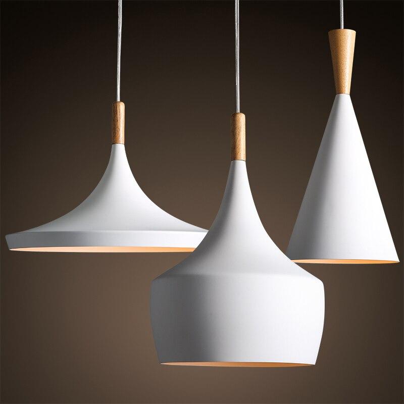 Newest 3 size pendant lights led lighting droplight for Lustre suspension moderne