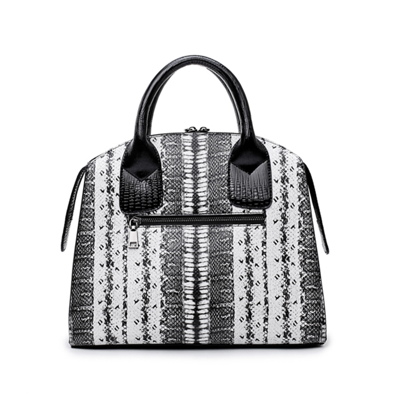 d10b6e865b53 ARPIMALA Vintage Snake Print Tote Bag Women Big PU Leather Handbags Ladies  Large Briefcase Work Shopper Bags for Winter-in Top-Handle Bags from  Luggage ...
