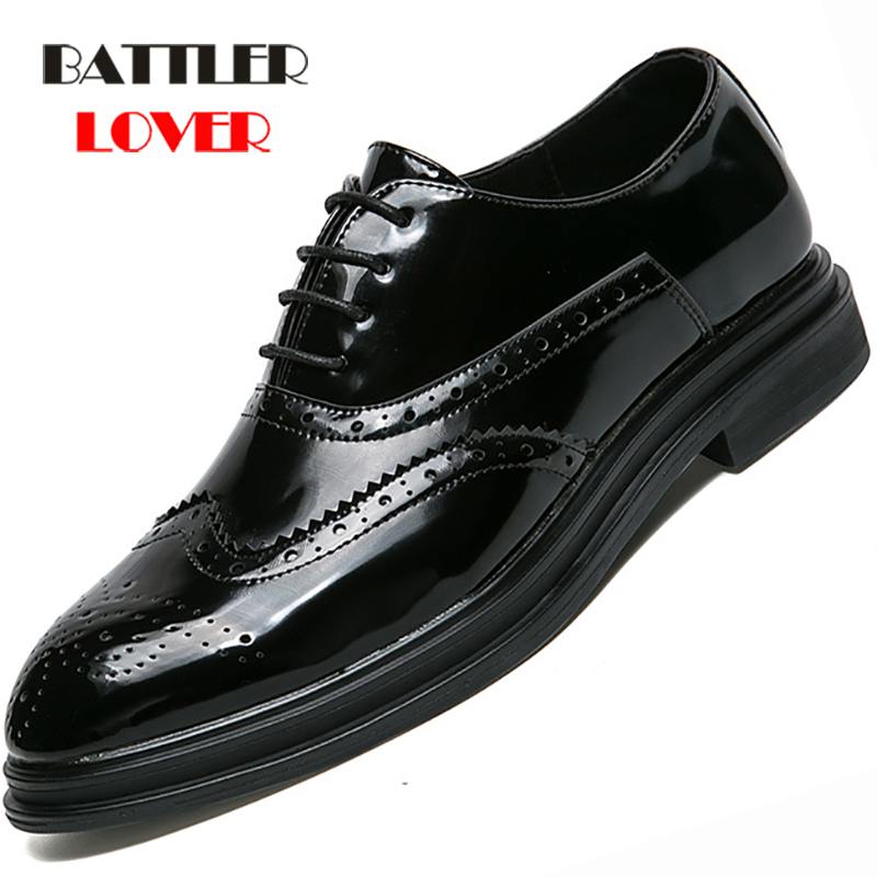 Mens formal shoes leather oxford shoes for men dress wedding men