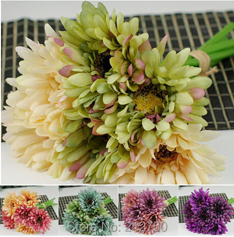 online get cheap daisy bridal bouquet aliexpress  alibaba group, Beautiful flower