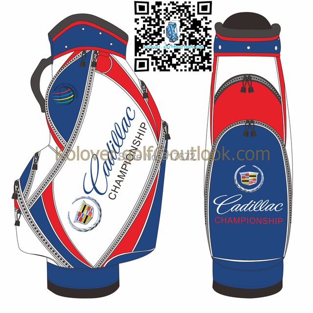staff bag navy billboard golf bags