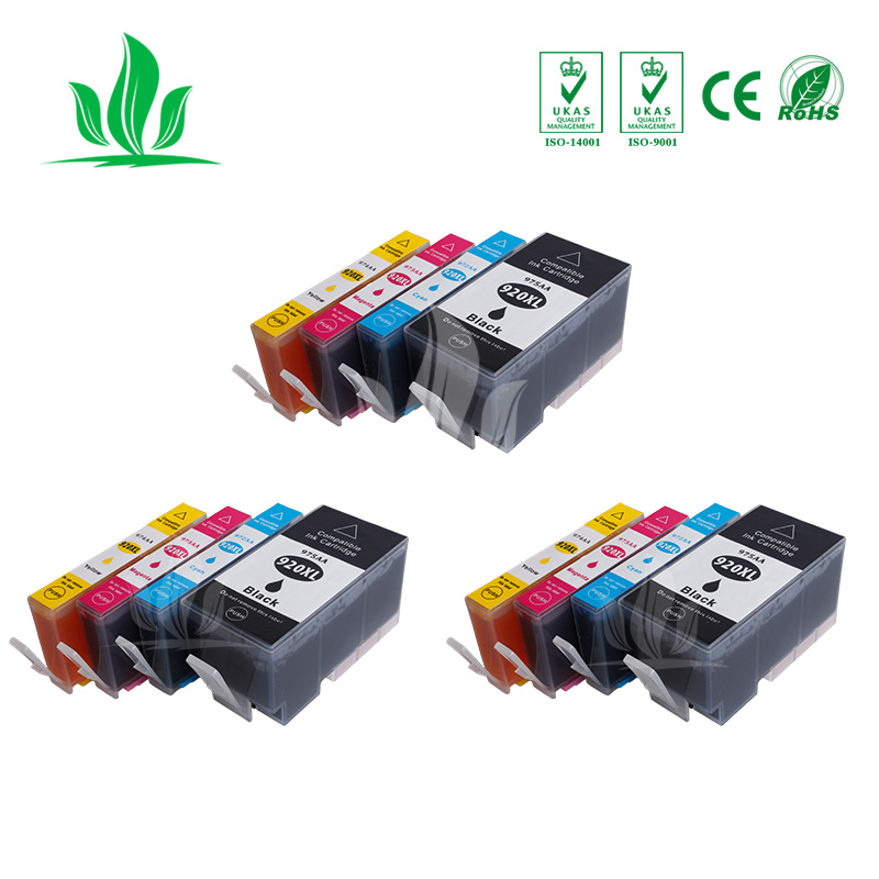 3 sets compatible for HP 920XL Ink font b Cartridge b font HP officejet 6000 6000A