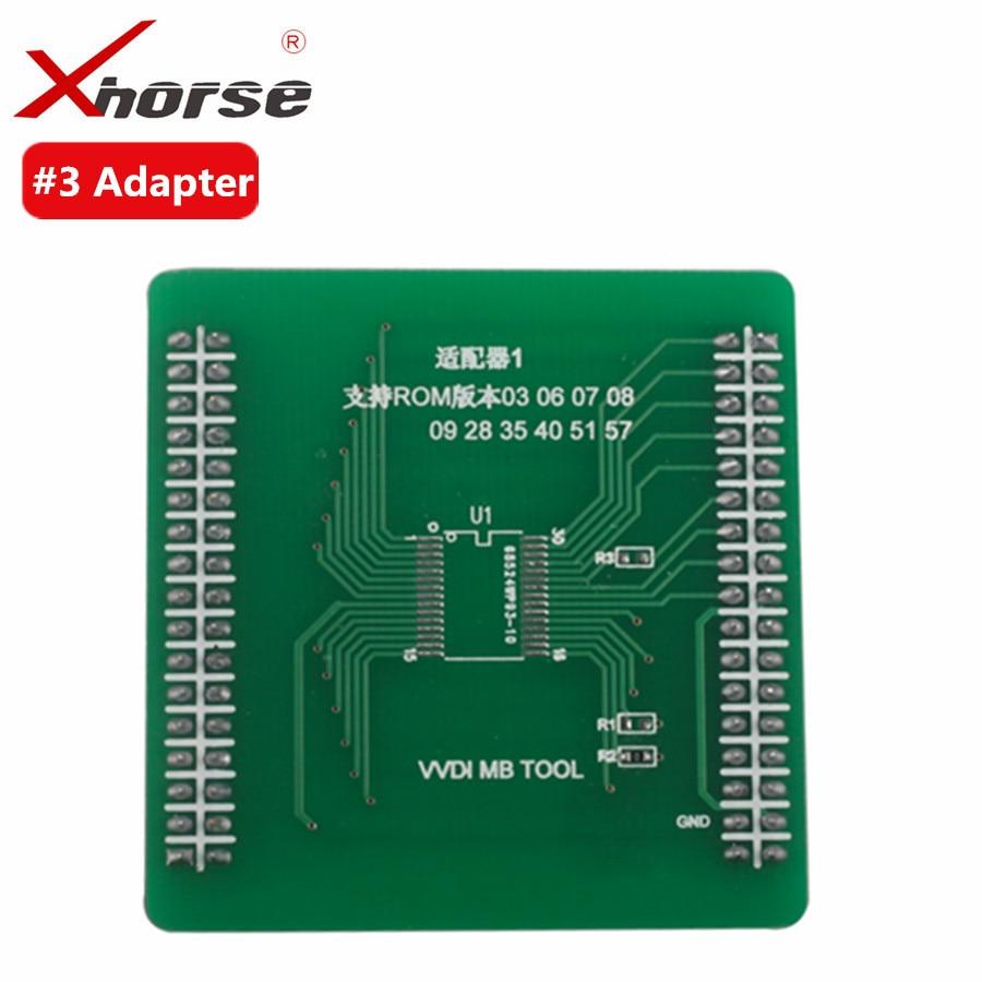 все цены на  Original Xhorse VVDI MB TOOL Adapter #3  онлайн