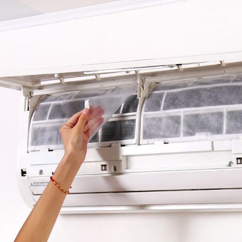 2 Pc Aire Acondicionado Toma De Viento Cubierta Protectora Polvo Filtro De Purificación Autoadhesivo Papel Purificador De Aire Filtro De Pantalla