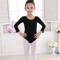 2018 Newest Girls Gymnastic Short Sleeve Dance Leotards Training Ballet Dancewear Practice Costume For Kid Girls