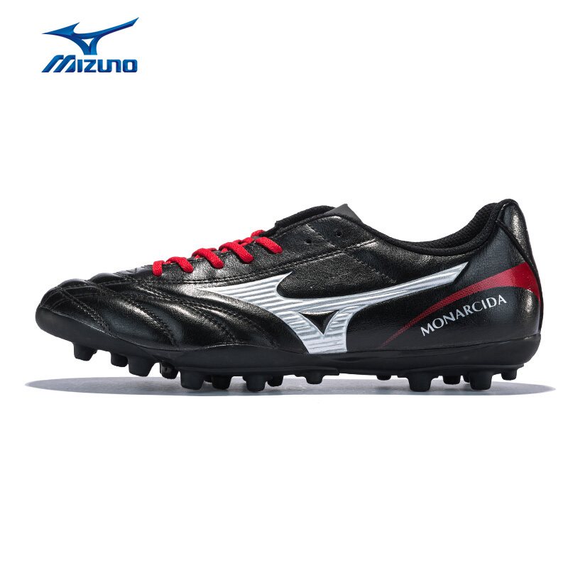 MIZUNO Men MONARCIDA 2 FS AG Soccer Shoes Professional Cushion Sports Shoes Breathable Sneakers P1GA182803 YXZ073 mizuno men s sports beathable cushioning soccer shoes monarcida fs as light sport shoes sneakers p1gd152301 yxz003