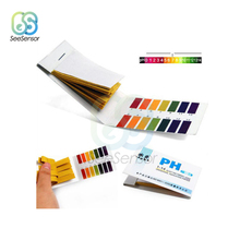 80 Strips PH Test Strip Full Range Alkaline Acid 1-14 Litmus Test Paper Aquarium Pond Water Testing PH Litmus Paper