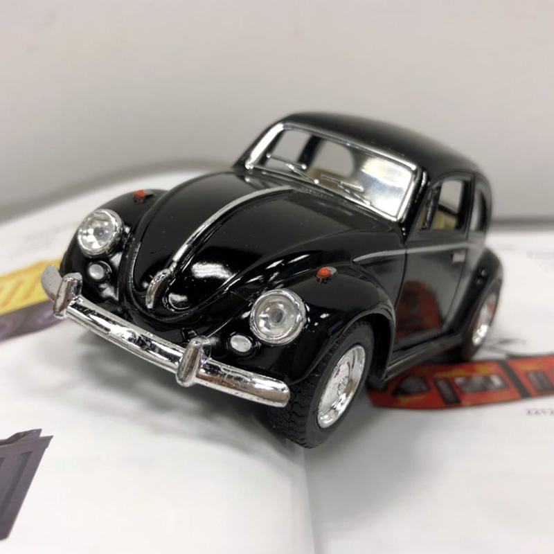 Brand New 1/32 Scale Germany 1967 Volkswagen Vw Classic Beetle Bug Diecast Metal Pull Back Car Model Toy For Gift/Children