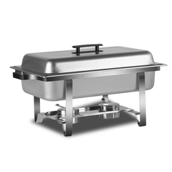 Stainless Steel Buffet Stove Hotel/Buffet Restaurant/Cafeteria Equipment Alcohol Heating Buffet Furnace Buffet Container HBF-1