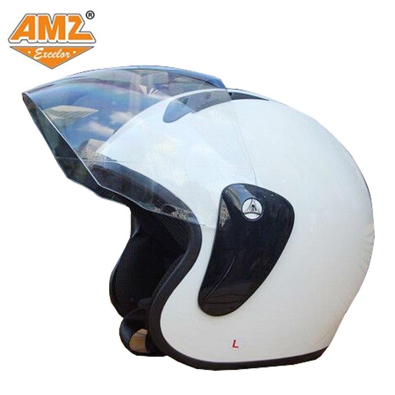 АМЗ ретро мотоциклетный шлем электрический автомобиль мужчины и женщины общие Харлей тяжелый паровоз выставили шлем четыре сезона езда оборудов