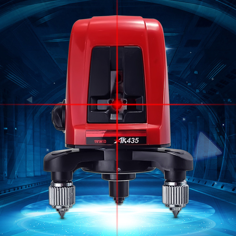 все цены на Swivel Head Level Tools 360degree Self Leveling Cross Laser line spirit Red 2 Line 1 Point Automatic Leveling Laser Level