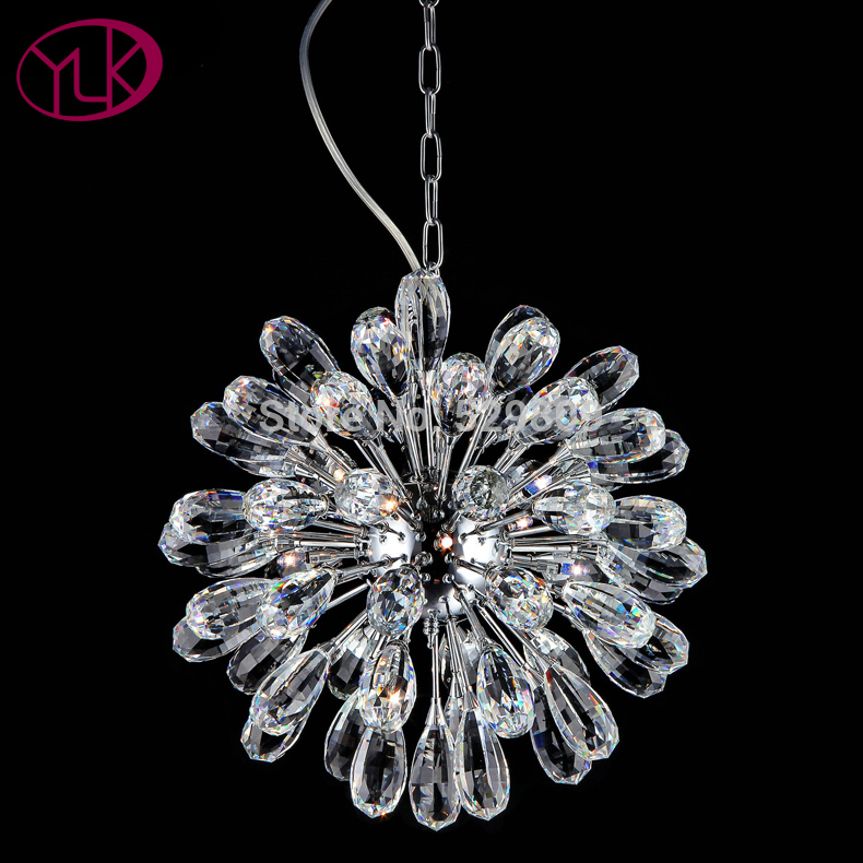 Free Shipping Top Fashion Modern Crystal Chandelier Personality Living Room Lamp LED lustres de teto Luxury Home Lighting modern crystal bed room wall lamp led sconces 110v 220v living room light home deocrationg lighting fixture free shipping