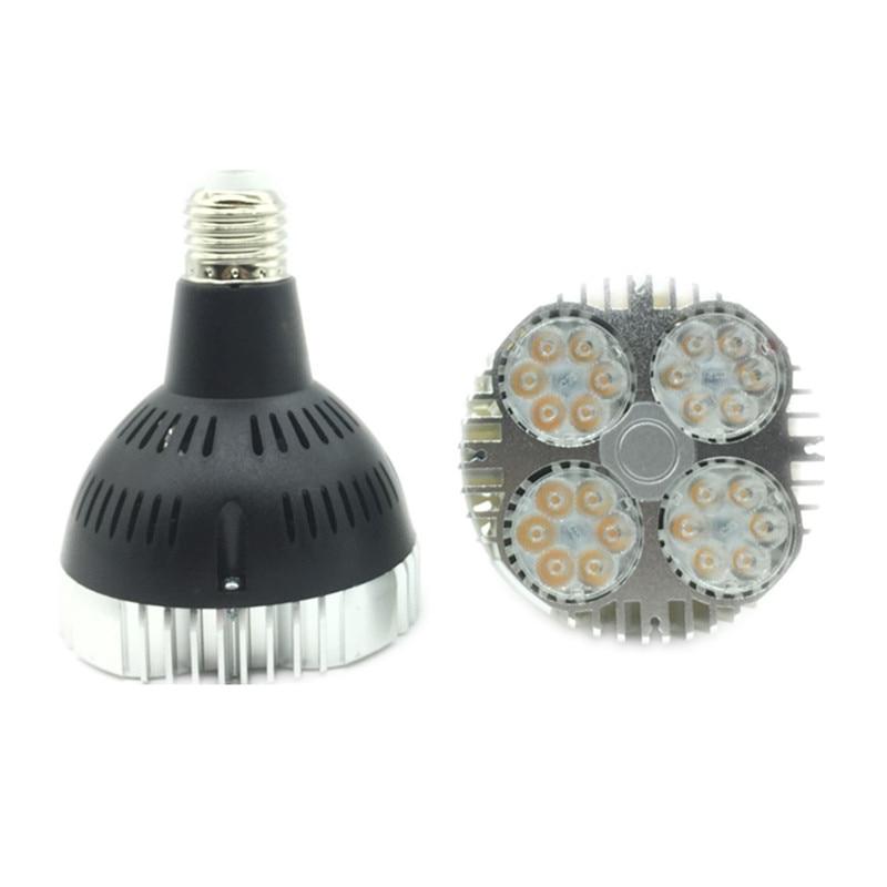 Par30 Led Spot Light High Brightness E27 35watt Led Lighting Lamp 85-265v Fan Inside 20pcs/lot Dhl/fedex Free Ship Agreeable Sweetness Modest Lowest Price Led Bulbs & Tubes Lights & Lighting
