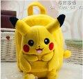 Regalo para bebé 1 unid 25 cm pequeña caricatura de Pokemon Pocket Monsters Pikachu muñeca de la felpa mochilas lindo bolso de hombro de La Taleguilla juguete de la muchacha