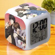 Sekai ichi Hatsukoi Onodera Ritsu no Baai Yaoi Digital Alarm Clock  Home Clocks