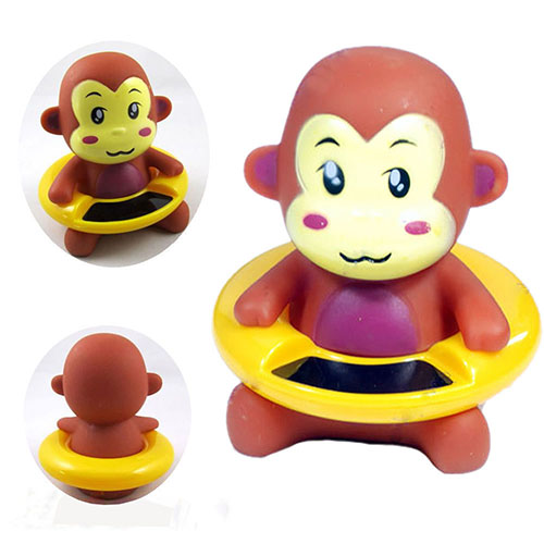 Baby Bath Thermometer Water Thermometers Lovely Cartoon Ainmal Plastic Float Floating Toy Bath Tub Water Sensor