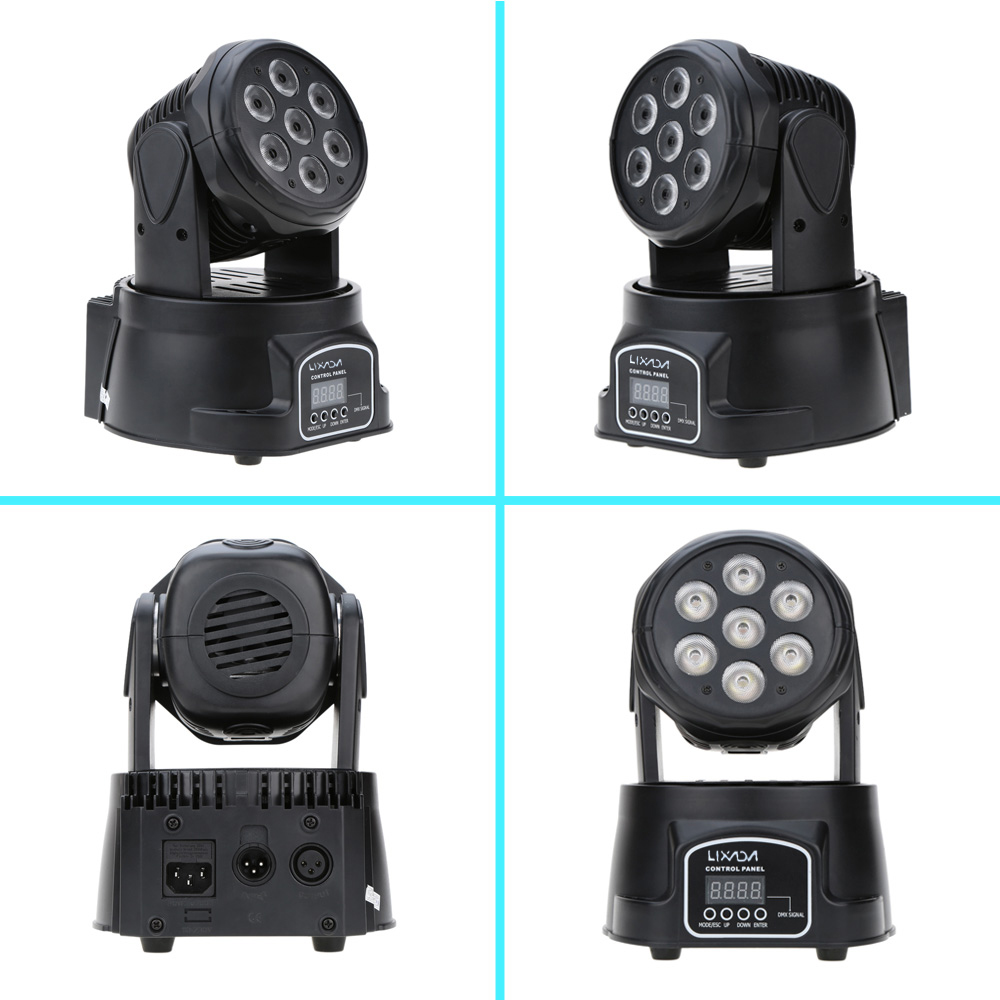 2019 New LED Par DJ Light DMX Xmas Moving Head Beam Led Party Lights Disco Light