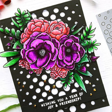 Eastshape Splendid Flowers Metal Cutting Dies Scrapbooking Background For Card Making Craft Dies Embossing New 2019 цена
