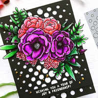 Eastshape Splendid Flowers Metal Cutting Dies Scrapbooking Background For Card Making Craft Dies Embossing New 2019