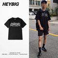 antisocial Youth hip hop T-shirt 2017 new spring HEYBIG ver. brand tees Asian size!! Men short-sleeve cotton Shirts