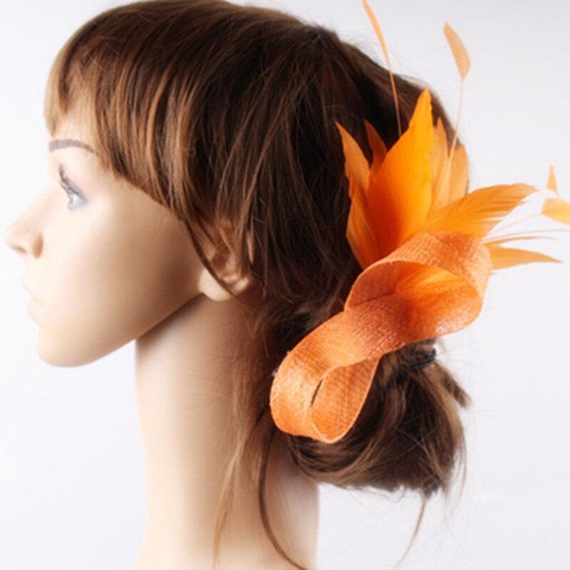 17 видов цветов щедрый Материал Sinamay чародей головной убор на день рождения аксессуары для волос вечерние головной убор для всех сезон FNR151259