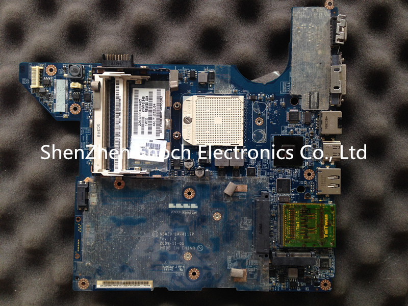 For HP Pavilion DV4 motherboard AMD 575575-001 LA-4117P,send one AMD cpu as a gift, 38stock No.999