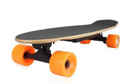 hot Newest 4 Wheels Electric Skateboard ul font b Hoverboard b font Remote Control Skateboard Electric