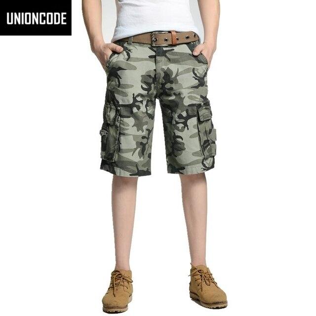 9f6f06531 Pantalones Cortos de La Venta Caliente Militar Plana Hasta La Rodilla de  Algodón Sueltos Pantalon corto