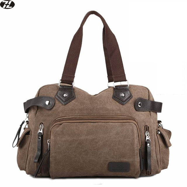 Большая емкость холст мужчины сумка старинные вещевой мешок повседневная твердые сумки мужчины посыльного плеча crossbody сумки Для Ноутбуков
