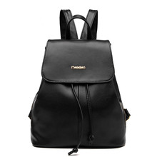 2017 Brand Fashion Women Backpack High Quality Youth Leather Backpacks for Teenage Girls Female School Shoulder Bag Bagpack moch