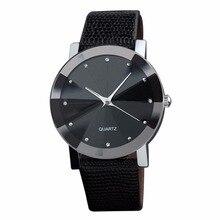 цена на Women Wrist Watch Sport Quartz Fashion leather band Automatic best Gift Black
