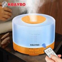 ミリリットルリモコンアロマミスト超音波空気加湿器 KBAYBO 500 タイマー設定