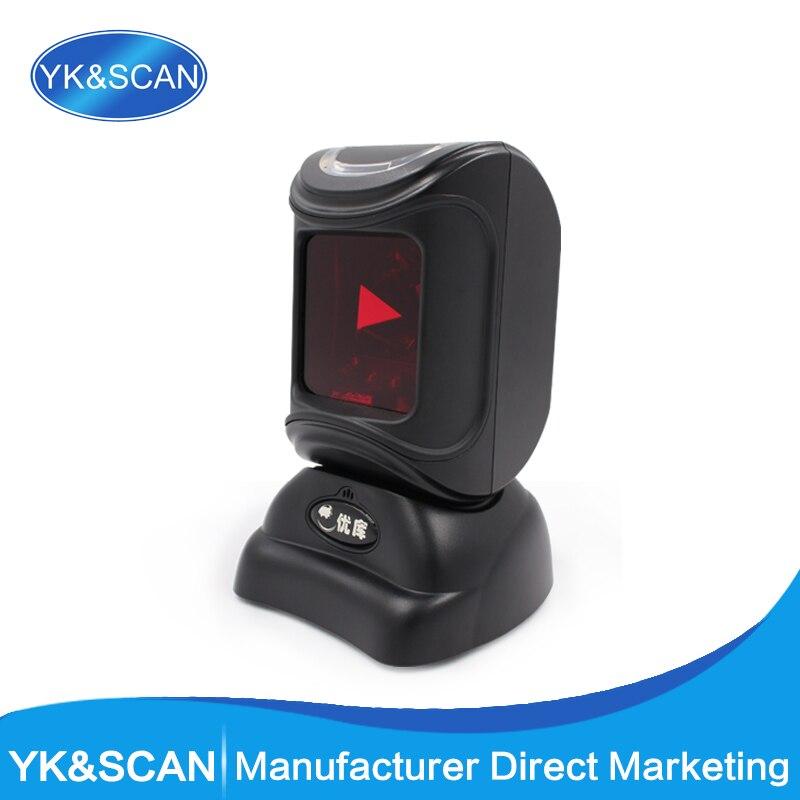 Всенаправленный 1D сканер штрихкодов yk-8800 USB/RS232 Бесплатная доставка для pos