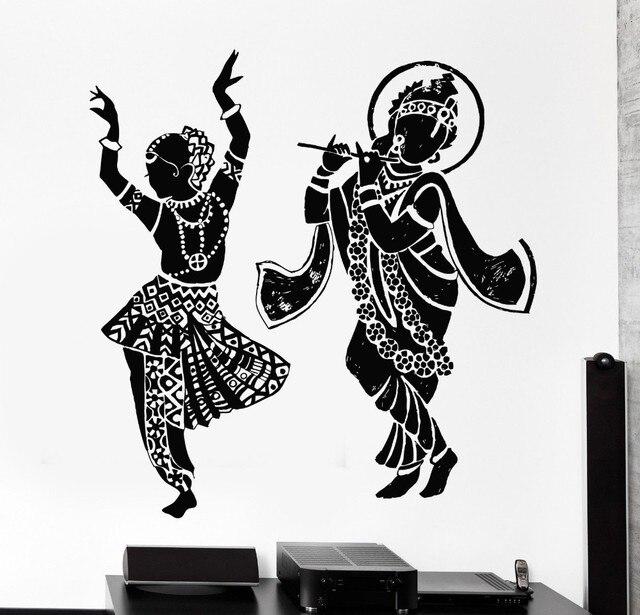 Aliexpresscom Buy Cheap Indian Buddha Dance Hinduism Wall Decal